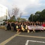 台湾の内歴高級中学の生徒が来校されました。